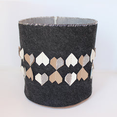 Copy of STORAGE BASKET - GREY NEUTRAL