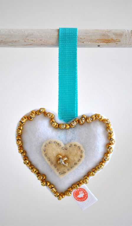HEART DECORATION - BEAD