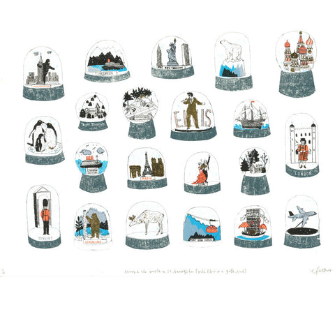 Charlotte Farmer: Around The World In 20 Snowglobes - Smithson Gallery
