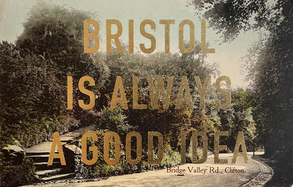 Dave Buonaguidi: Bristol Postcard - Bridge Valley Road Clifton