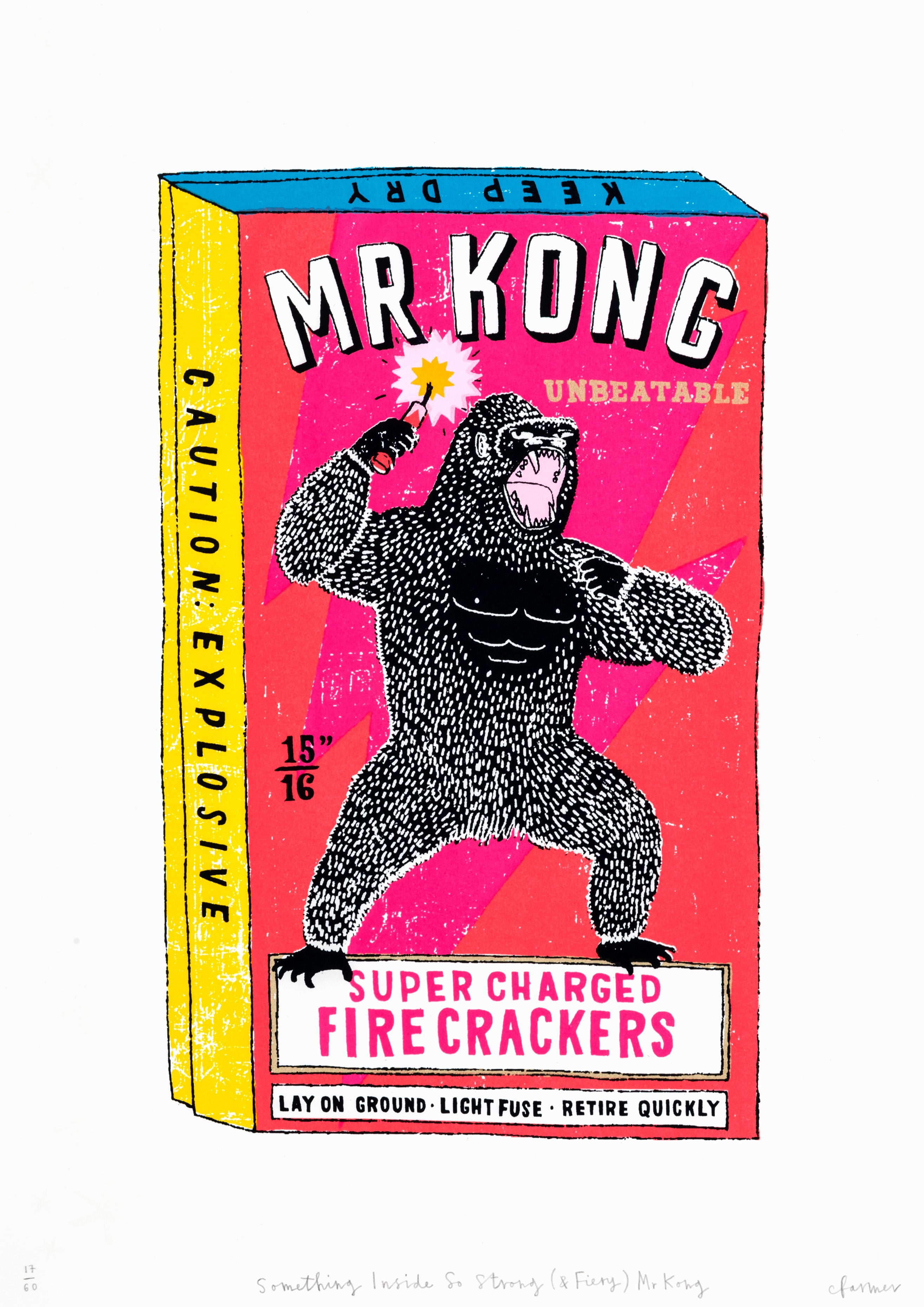 Charlotte Farmer: Something Inside So Strong (and fiery) Mr Kong