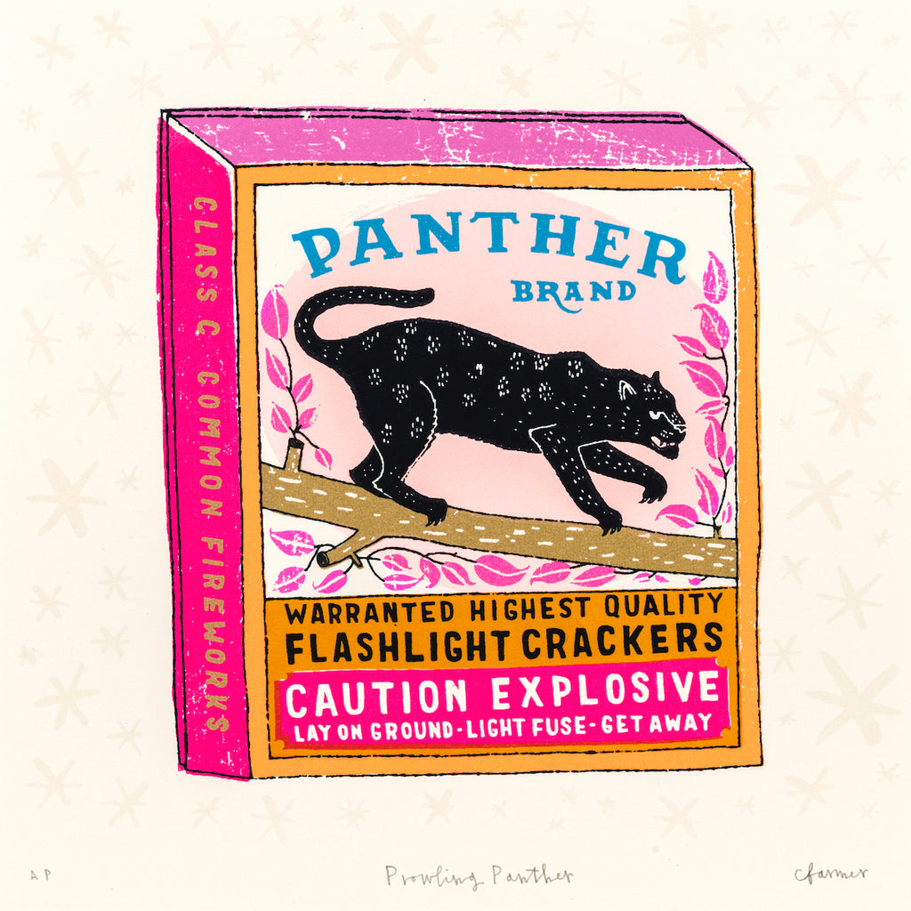 Charlotte Farmer: Prowling Panther