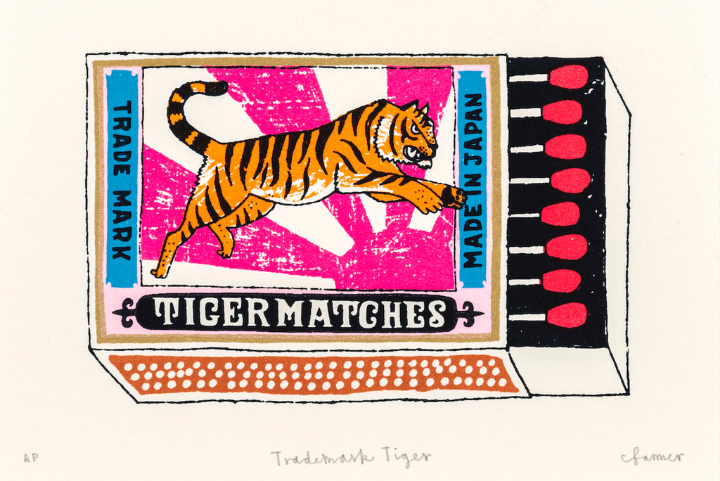Charlotte Farmer: Trademark Tiger