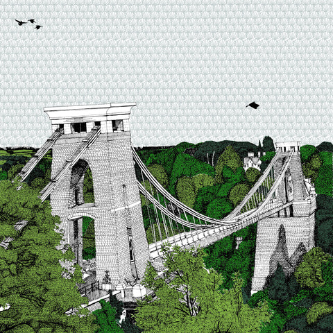 Clare Halifax: Crossing Clifton Bridge