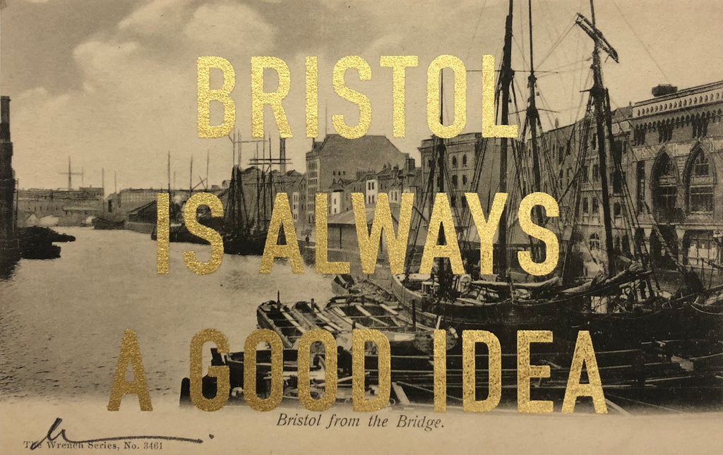 Dave Buonaguidi: Bristol Postcard - Bristol From The Bridge
