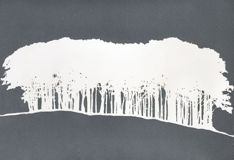 Clare Cutts: Hilltop Trees - Smithson Gallery