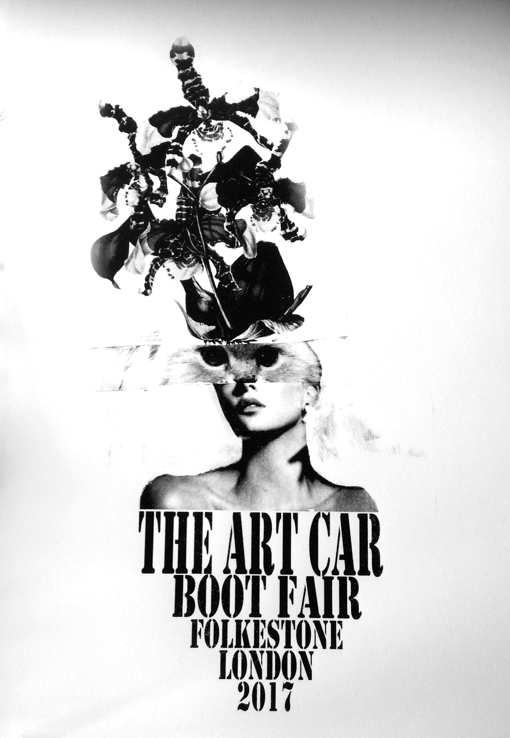 Rosie Emerson: Art Car Boot Fair Poster