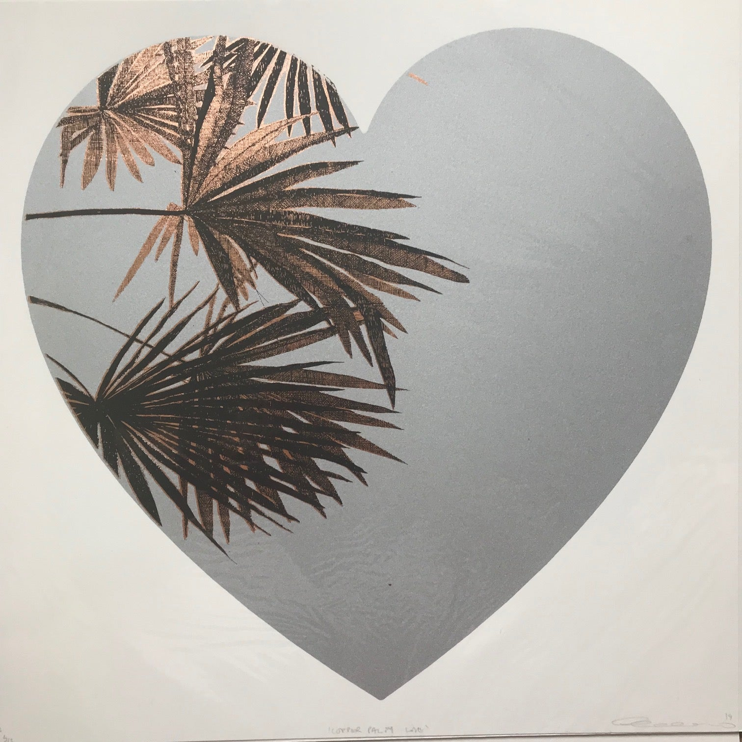 Clare Halifax: Copper Palm Love