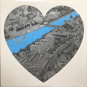 Clare Halifax: London Loves Blue/Silver