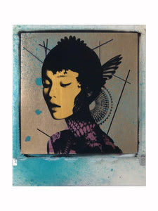 Andrew J Millar: Into The Distance (Spray Paint)