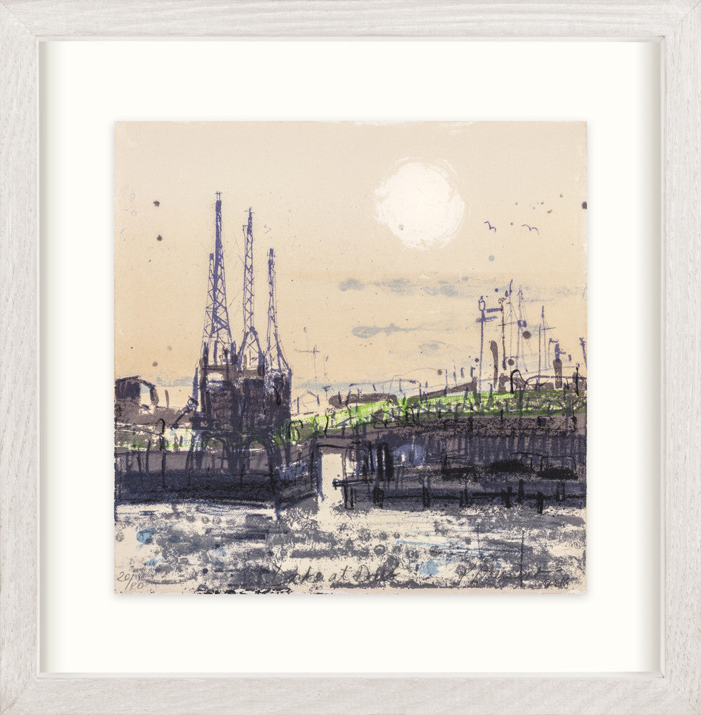 Kelly Stewart: Docks at Dusk (pink) - Smithson Gallery - 2