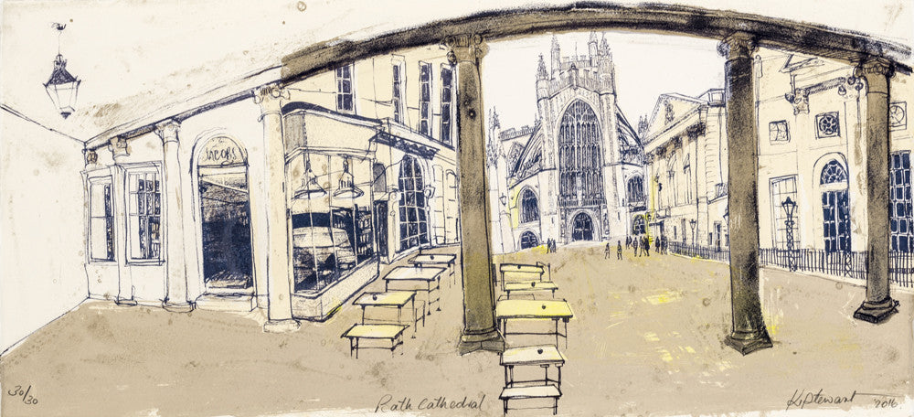 Kelly Stewart: Bath Cathedral - Smithson Gallery - 1