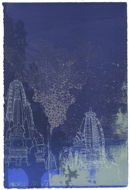Chitra Merchant: Night IV - Smithson Gallery