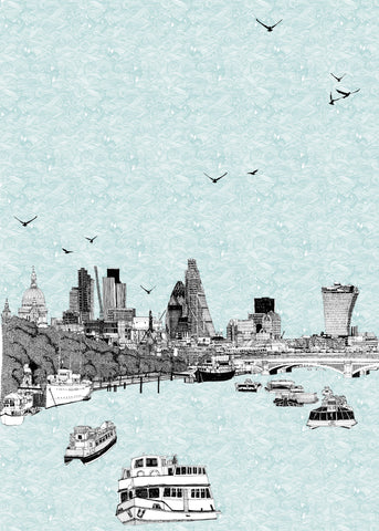 Clare Halifax: Sailing Through London