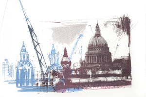 Kelly Stewart: St Pauls & Construction - Smithson Gallery