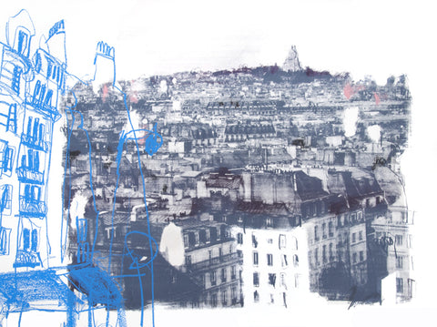 Kelly Stewart: View to Sacré-Cœur - Smithson Gallery