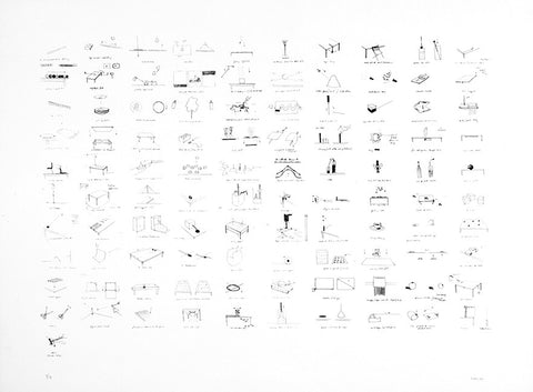 John Wood and Paul Harrison - 101 Drawings - Smithson Gallery