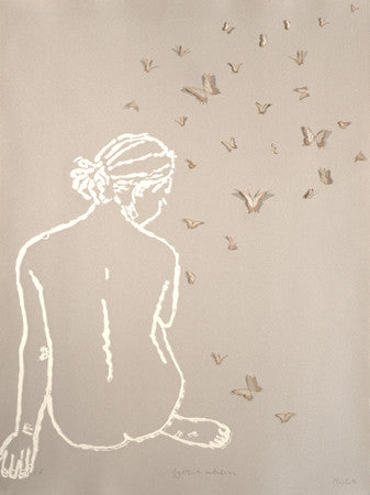 Clare Cutts: Fig 29 with Butterflies - Smithson Gallery