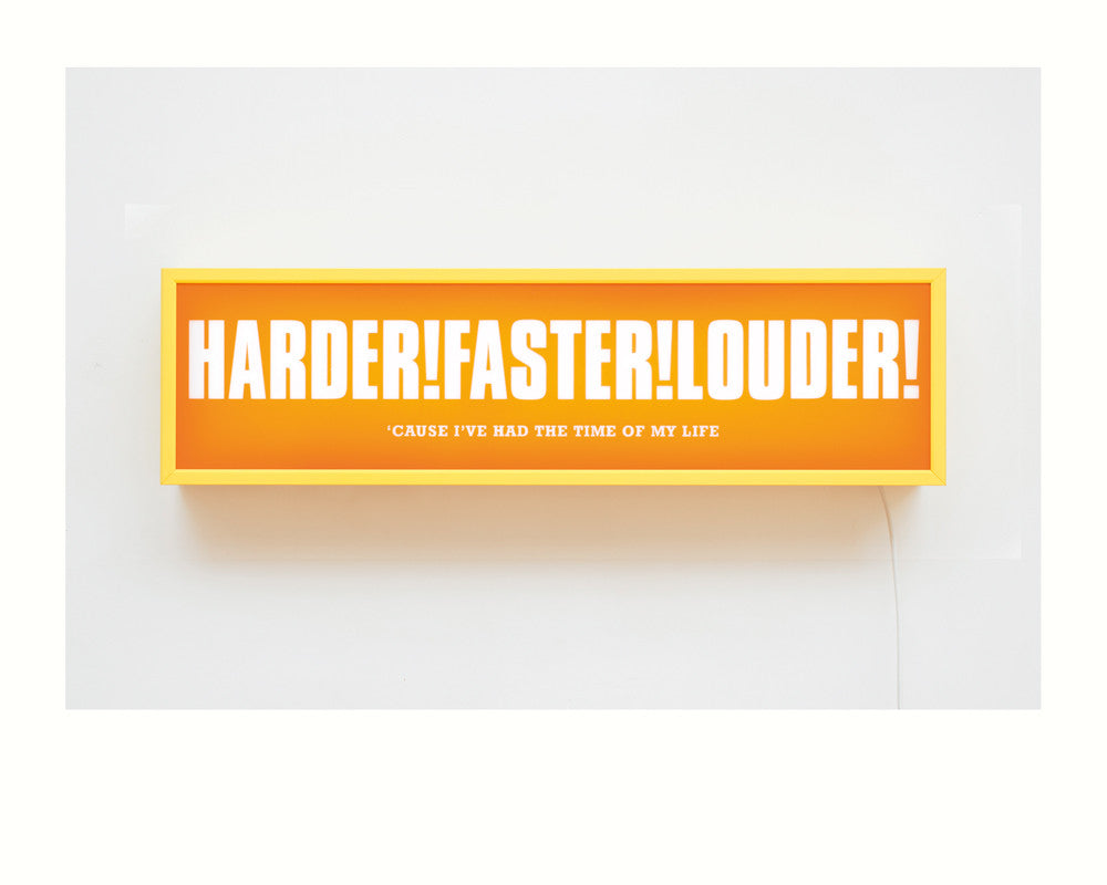 Jono Boyle - Harder!Faster!Louder! - Smithson Gallery