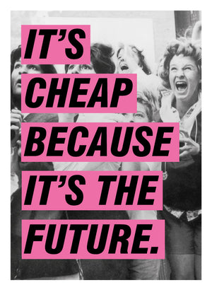 Jono Boyle - It's Cheap Because It's The Future (pink) - Smithson Gallery - 3