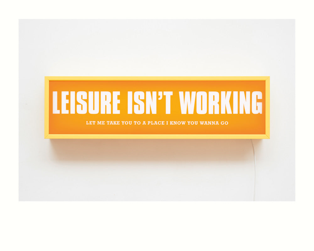Jono Boyle - Leisure Isn't Working - Smithson Gallery