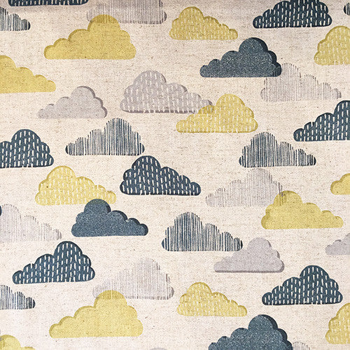 "Tissu - Tissu ""Poetic Clouds"" x 50 cm - sevenberry - 1"