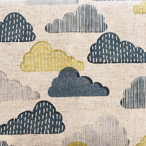 "Tissu - Tissu ""Poetic Clouds"" x 50 cm - sevenberry - 2"