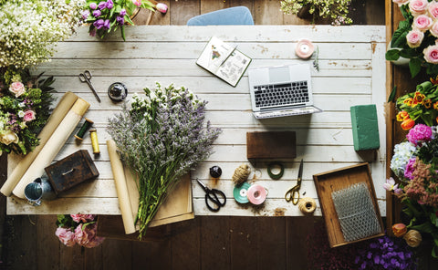 Pexels-laptop-flowers-crafts-Bliss-a-Porter