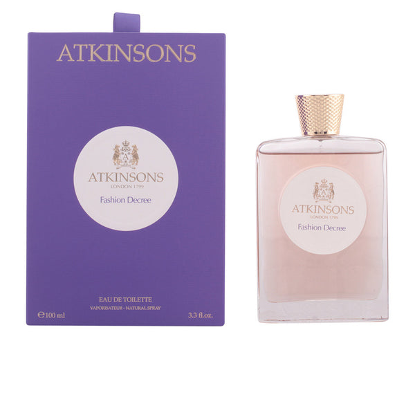 ATKINSONS Fashion Decree - BLISS À PORTER Cosmética Hedonista Fragancias https://www.bliss-a-porter.es/