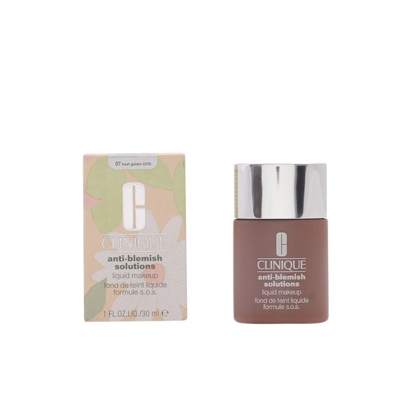 CLINIQUE ANTI-BLEMISH SOLUTIONS LIQUID MAKE UP - Maquillaje fluido anti-imperfecciones