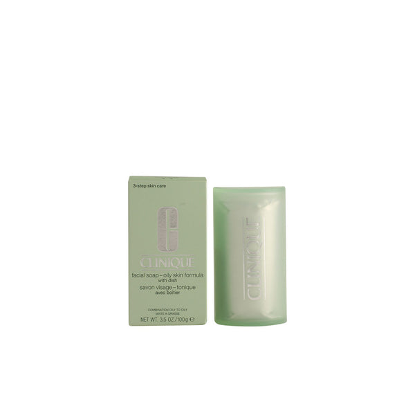 CLINIQUE FACIAL SOAP EXTRA STRENGTH - Jabón facial para pieles grasas - BLISS À PORTER Cosmética Hedonista Limpiadoras faciales https://www.bliss-a-porter.es/