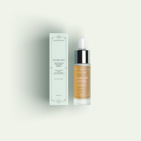 SUPERMOOD EGOBOOST ONE MINUTE FACELIFT SERUM - Sérum reafirmante instantáneo - BLISS À PORTER Cosmética Hedonista Tratamiento facial https://www.bliss-a-porter.es/