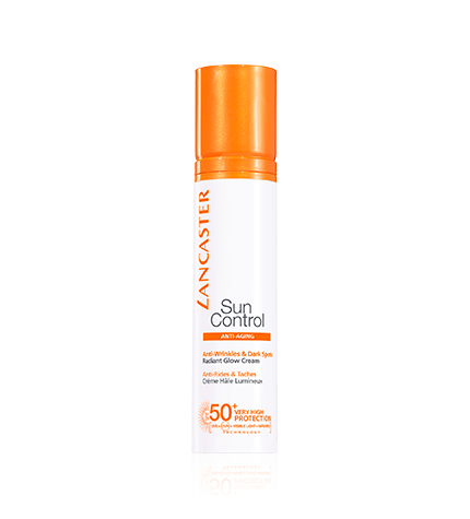 LANCASTER SUN CONTROL ANTI WRINKLES & DARK SPOTS CREAM - Crema facial tono luminoso anti-arrugas y anti-manchas - BLISS À PORTER Cosmética Hedonista Solares https://www.bliss-a-porter.es/