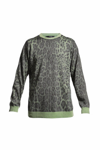 EXCLUSIVE LUREX LEOPARD SWEATER