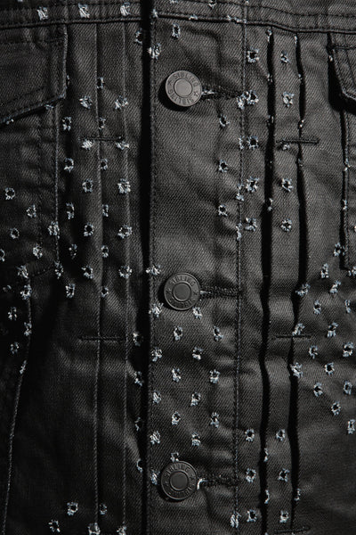 SS15 SCAR SPOT DENIM JACKET