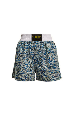 SIBLING SQUAD LEOPARD BOXING SHORTS