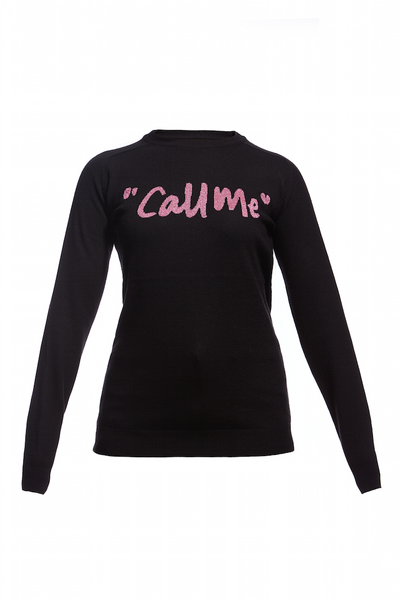 AW15 CALL ME MERINO CREW SWEATER