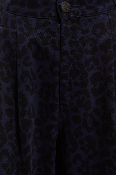 AW16 LEOPARD PRINT DOLPH JEAN