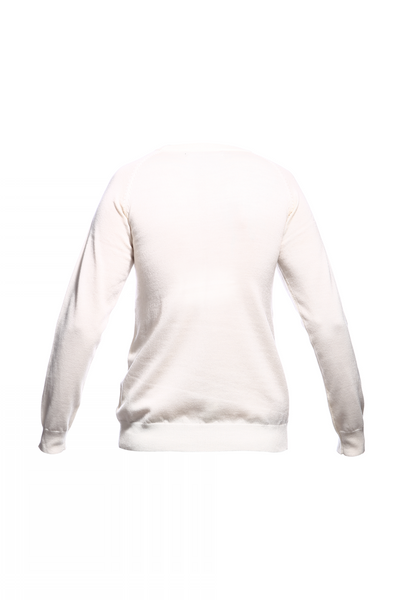 SS15 CLYM FAN ART MERINO CREW SWEATER