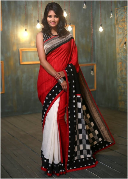 b21cdedbdf If you observe the designer sarees we have you will see the intelligent  merge of prints with bold colours to provide one a spectacle to marvel.