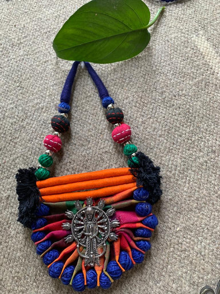 Exclusive ethnic goddess necklace