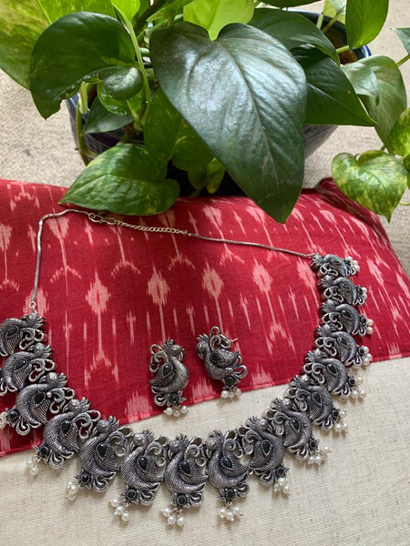Exclusive german silver necklace