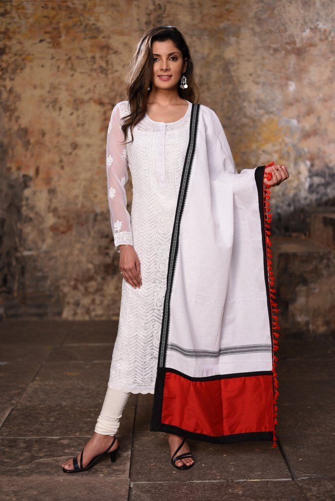 Exclusive cotton dupatta