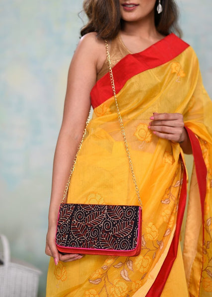 Bags - Exclusive Ajrak Printed Clutch