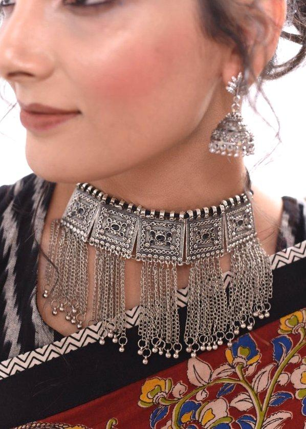 Jewelry - Exclusive German Silver Choker Set