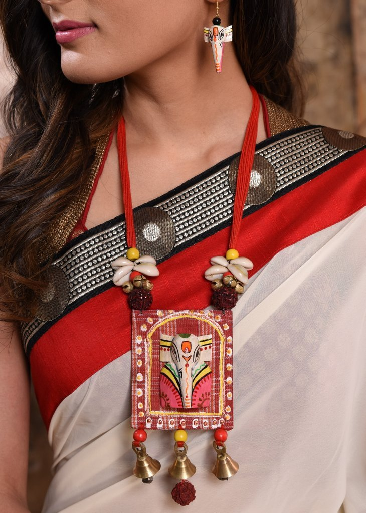 Jewelry - Exclusive Hand Made Ganesha Necklace Set