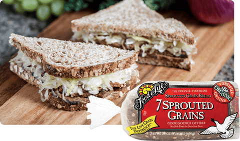 Organic 7-Sprouted Wholegrain Bread 680g