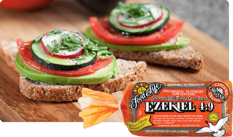 Organic Ezekiel 4.9 Sprouted Wholegrain Bread 680g