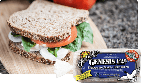 Organic Genesis 1.29 Sprouted Wholegrain Bread 680g