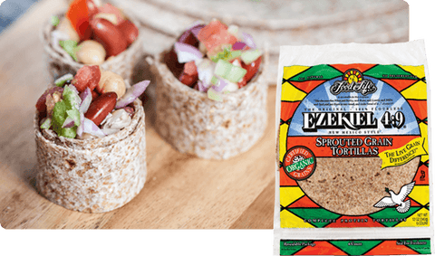 Organic Ezekiel 4.9 Sprouted Whole Grain Tortillas 320g